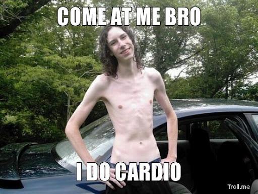I do cardio